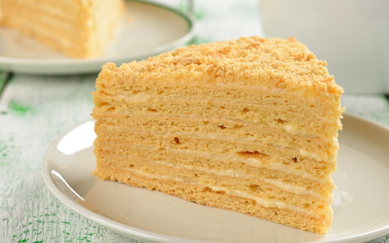 Торт медово слоеный рецепт
