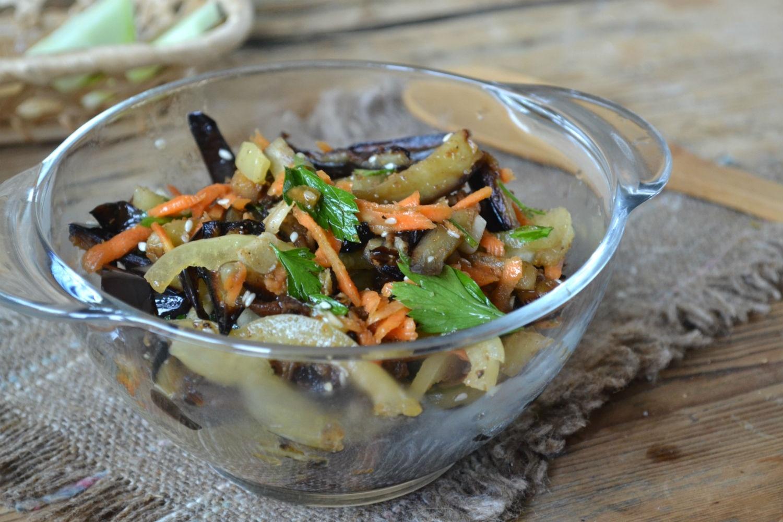 Баклажаны по корейски - самый вкусный рецепт