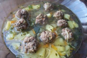 Суп с фрикадельками - пошаговый рецепт с фото