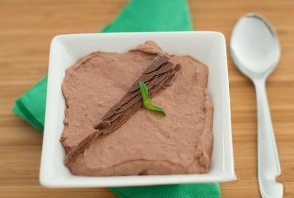 Шоколадный мусс на скорую руку - рецепт с пошаговым фото