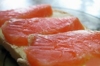 Горбуша соленая в домашних условиях - очень вкусная