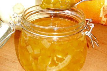 Варенье из кабачков с лимоном - рецепт с пошаговым фото