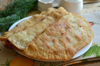 Чебуреки с мясом - пошаговый рецепт с фото