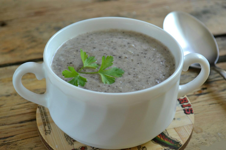 Крем-суп из шампиньонов рецепт с фото