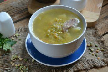 Гороховый суп - классический рецепт с пошаговым фото