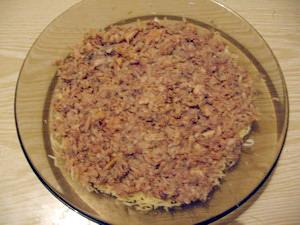 Салат Мимоза - рецепт классический