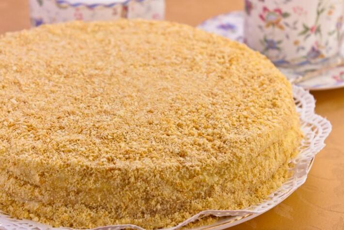 торт наполеон рецепт