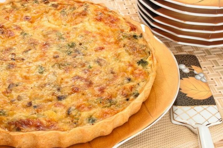 лоранский пирог с курицей рецепт