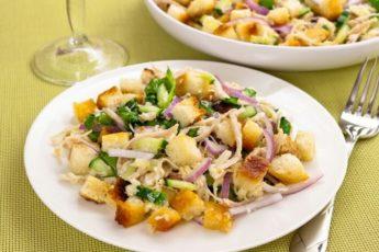 салат хрустящий пошаговое приготовление
