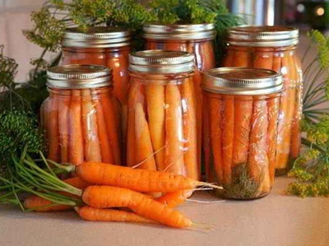 Морковь на зиму (очень простой рецепт)