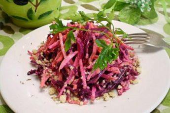 Овощной салат Здоровье
