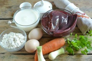 Первым шагом приготовим нужные продукты.