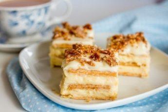 Торт из крекеров