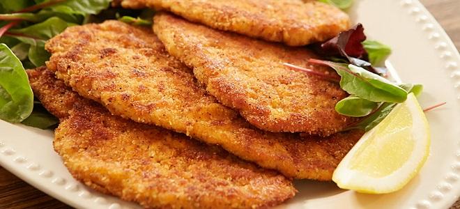Шницель из свинины на сковороде - рецепт