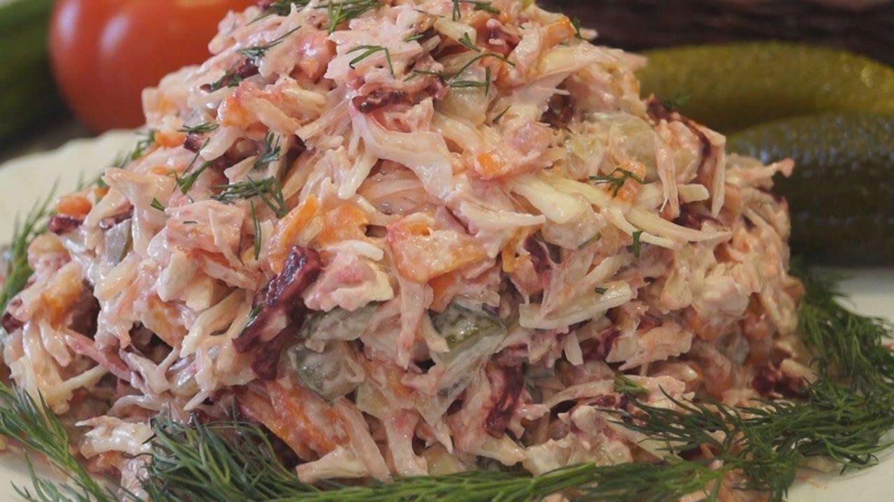 Салаты простые и вкусные салат