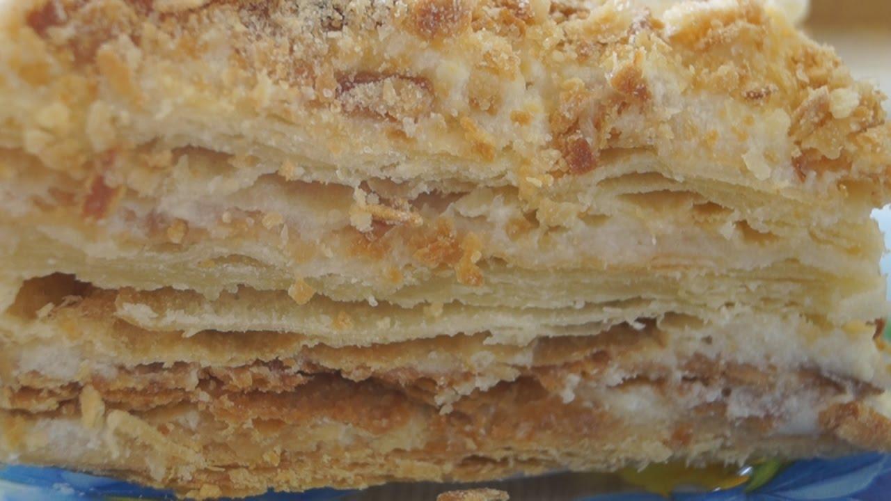 """Торт """"Наполеон"""" Классический. Нежный, ароматный и очень вкусный!"""