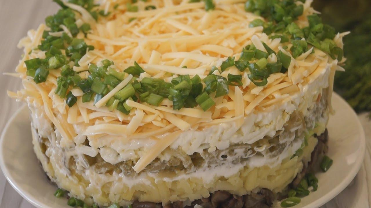 с простых салатов рецепты фото