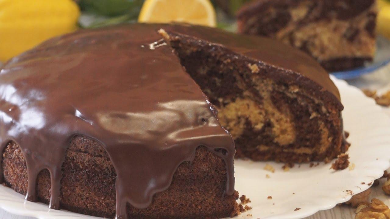 Пирог Зебра. Простой рецепт Очень Вкусного и Быстрого пирога!