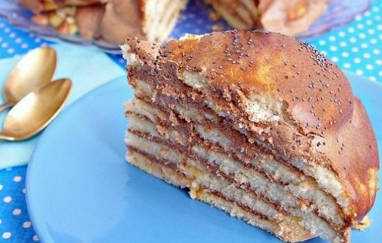 Торт «Опавшие листья»