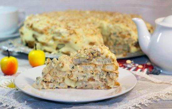 Торт Наполеон из ушек