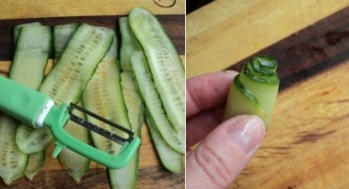 Подруга шеф-повар рассказала по секрету 3 хитрости, как креативно и красиво нарезать овощи