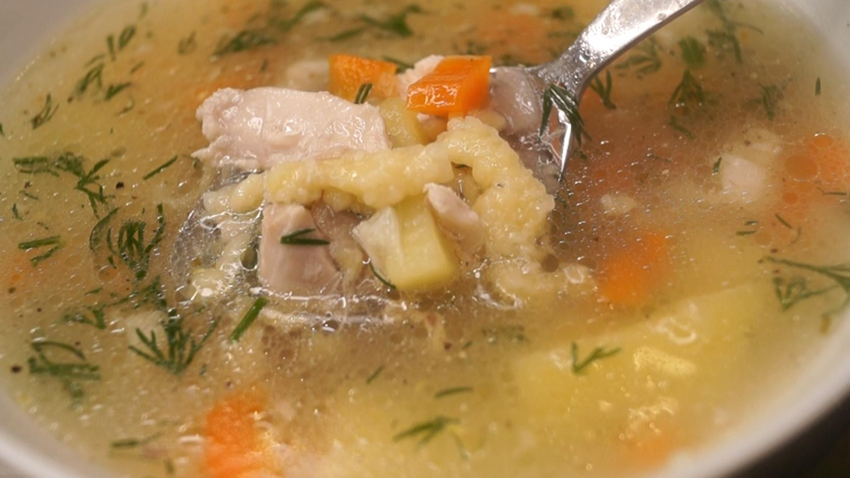 Суп который, Обрадует всю семью! Крестьянская Затирка
