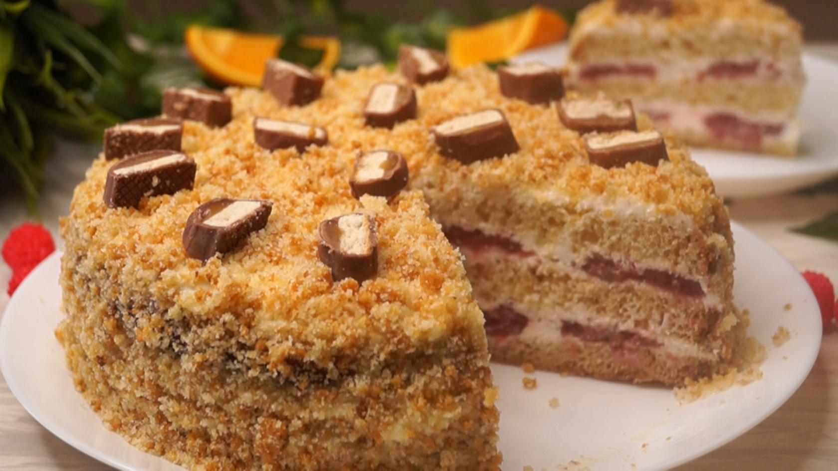 Мгновенный торт! Все будут без Ума!