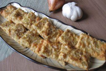 Рецепт лукового печенья