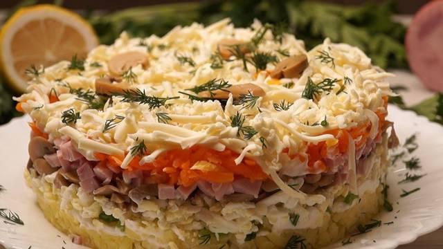 Самый вкусный салат! Понравится всем и украсит любой праздничный стол.