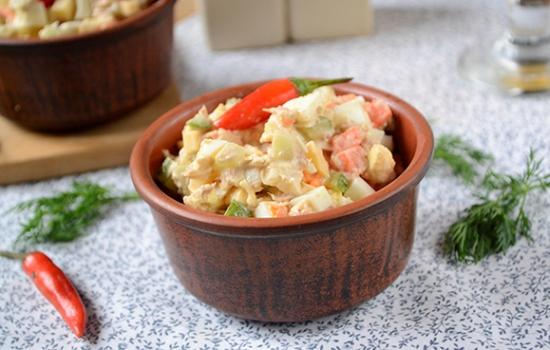 Салат с тунцом и морковкой: на праздник и на каждый день. Пошаговый авторский фото-рецепт простого салата с консервированным тунцом