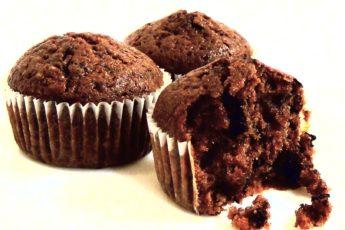 Шоколадные маффины – отличное начало дня. Авторский пошаговый фото-рецепт шоколадных маффинов с манкой