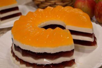 Торт 'Полосатик' без Выпечки