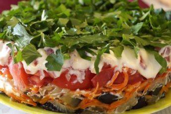 ПРОСТО БОЖЕСТВЕННЫЙ салат 'Баклажанный Рай'. Всегда первым улетает со стола!