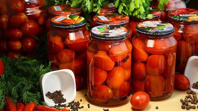 Мамины помидоры на зиму, без уксуса