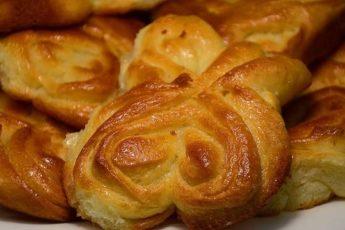 5 форм булочек из дрожжевого теста + рецепт приготовления
