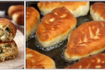 пирожки с рисом