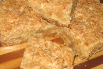 Пирог «3 стакана» или «Болгарский пирог»