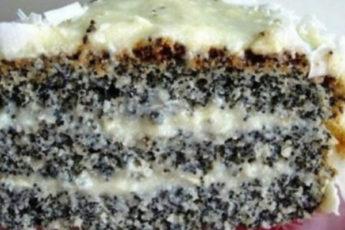 торт с маком «Блаженство»