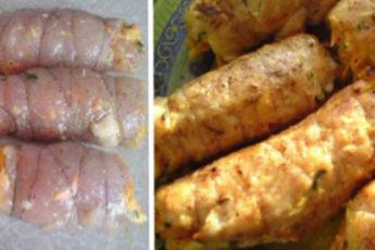 Рулетики «Боярские» из куриной грудки