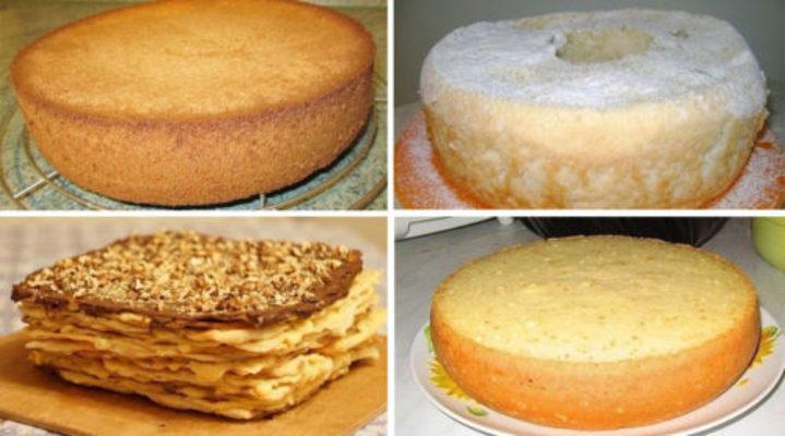 Лучшие коржи для тортов