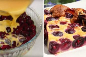 Пирог-запеканка «Клафути»