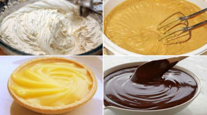 Простые и вкусные кремы для тортов и пирожных