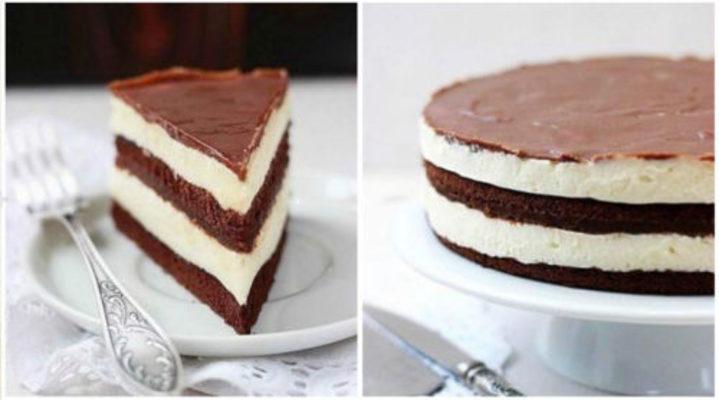 Шоколадный торт «Милка»