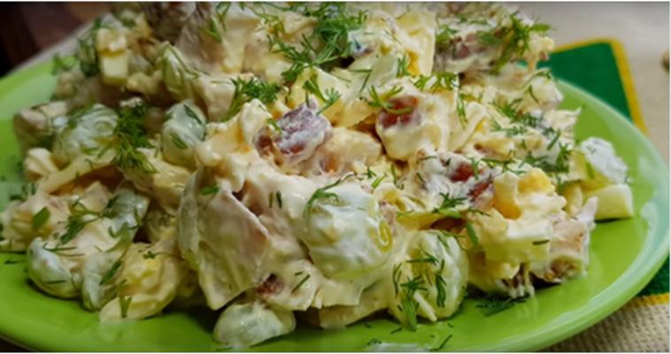 Этот салат займет почетное место на праздничном столе