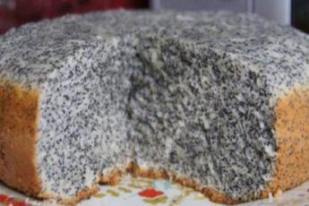 Вкуснейший пирог маковник