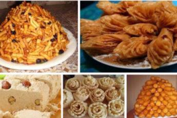Очень вкусные восточные лакомства и сладости