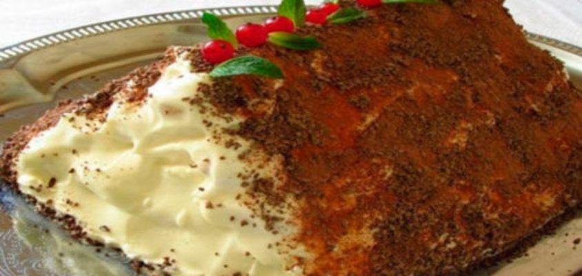 """Торт """"Монастырская изба"""" с черносливом и орехами"""