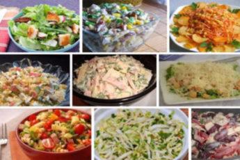 9 изысканных салатов на каждый день