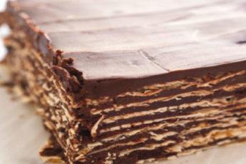 Легкий и очень быстрый шоколадный торт