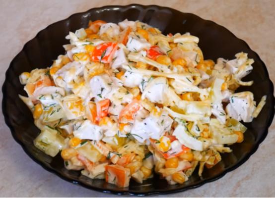 Простой рецепт нереально вкусного салата